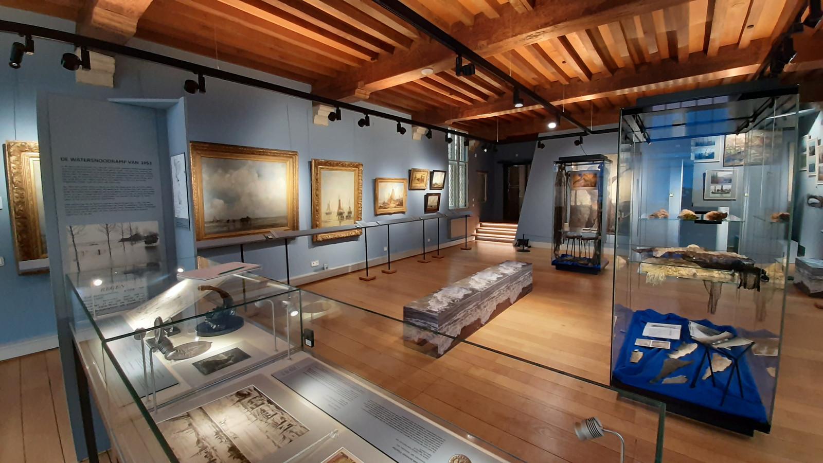 In het Markiezenhof in Bergen op Zoom waren de 40 werken uit het Rijksmuseum binnen de expo Koele Meren slechts drie weken te zien. Maar de waardering is ongekend hoog.