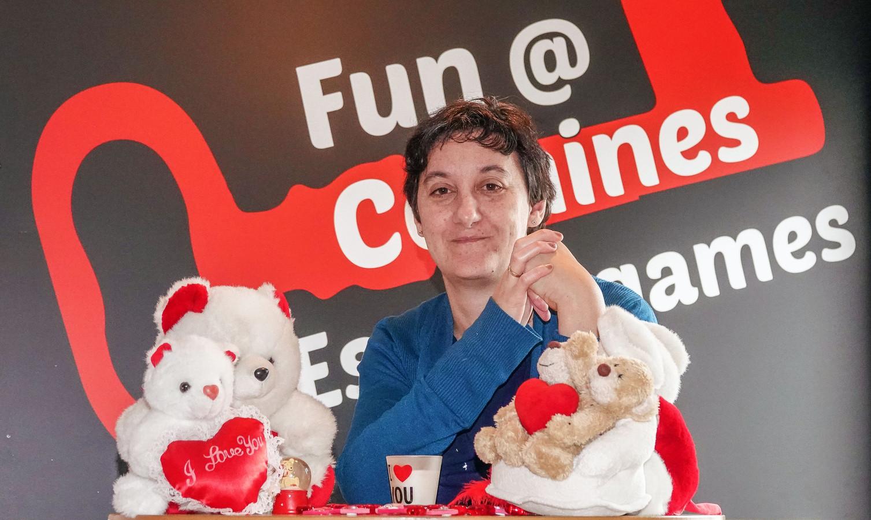 De zaakvoerders van escape rooms Fun at Comines in Komen organiseren op vrijdag 14 februari een 'Blind Escape'.
