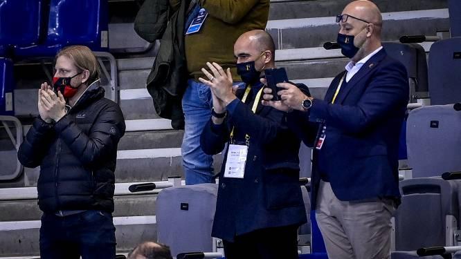 """Roberto Martinez duimt voor Rode Duivels Futsal: """"Deze groep verdient een beloning in Finland"""""""