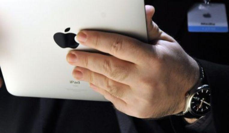 Apple brengt zijn veelbesproken iPad voorlopig niet in Nederland op de markt. ANP Beeld