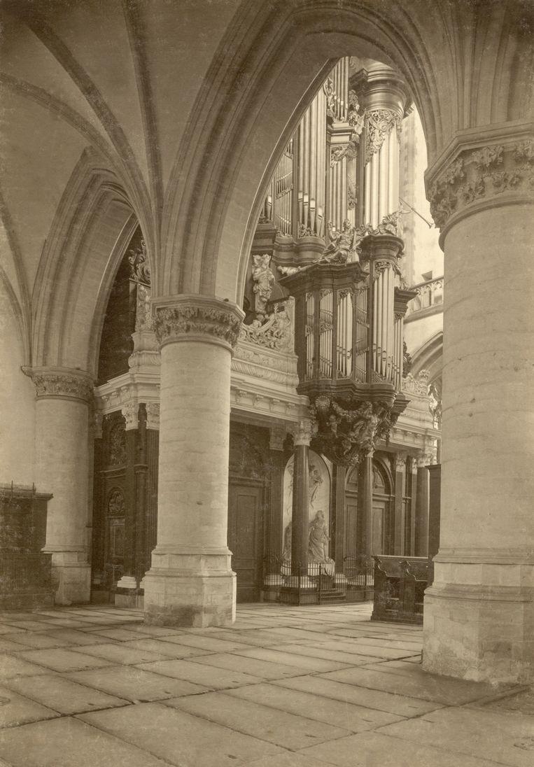 De Groote Kerk in Haarlem. Beeld Nationaal Archief/Collectie Spaarnestad/Adriaan Boer