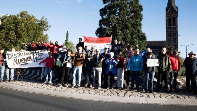 Inwoners Geldrop voeren actie tegen komst Nuenense distributiereuzen: 'Heel Geldrop heeft zitten slapen'