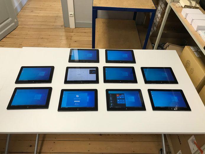 tablets van Ricoh voor AZJP