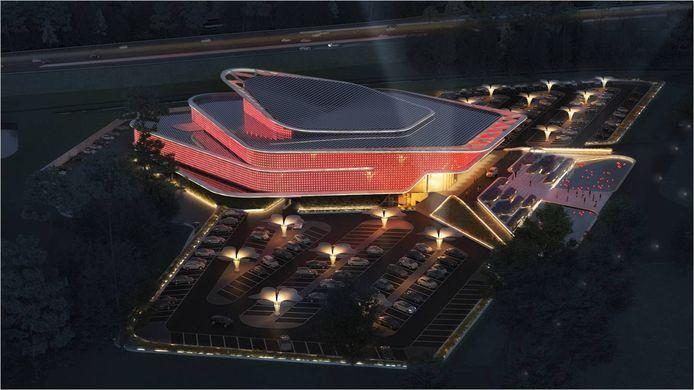 Het casino in Venlo, Nederland, geldt als referentie bij Casino Middelkerca.