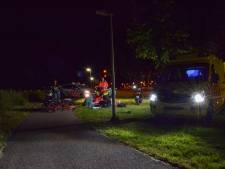 Man zwaargewond bij ongeluk met snorfiets, traumaheli landt in Huissen