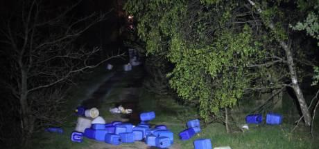 Ongeloof om grote drugsdumping tussen Schijndel en Veghel: 'Onvoorstelbaar, zo in de natuur'