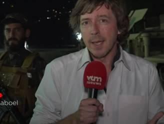 """Gewapende taliban houden Robin Ramaekers in de gaten terwijl hij live verslag uitbrengt in Kaboel: """"Erg beklemmend"""""""