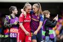 Jill Roord en Lieke Martens.
