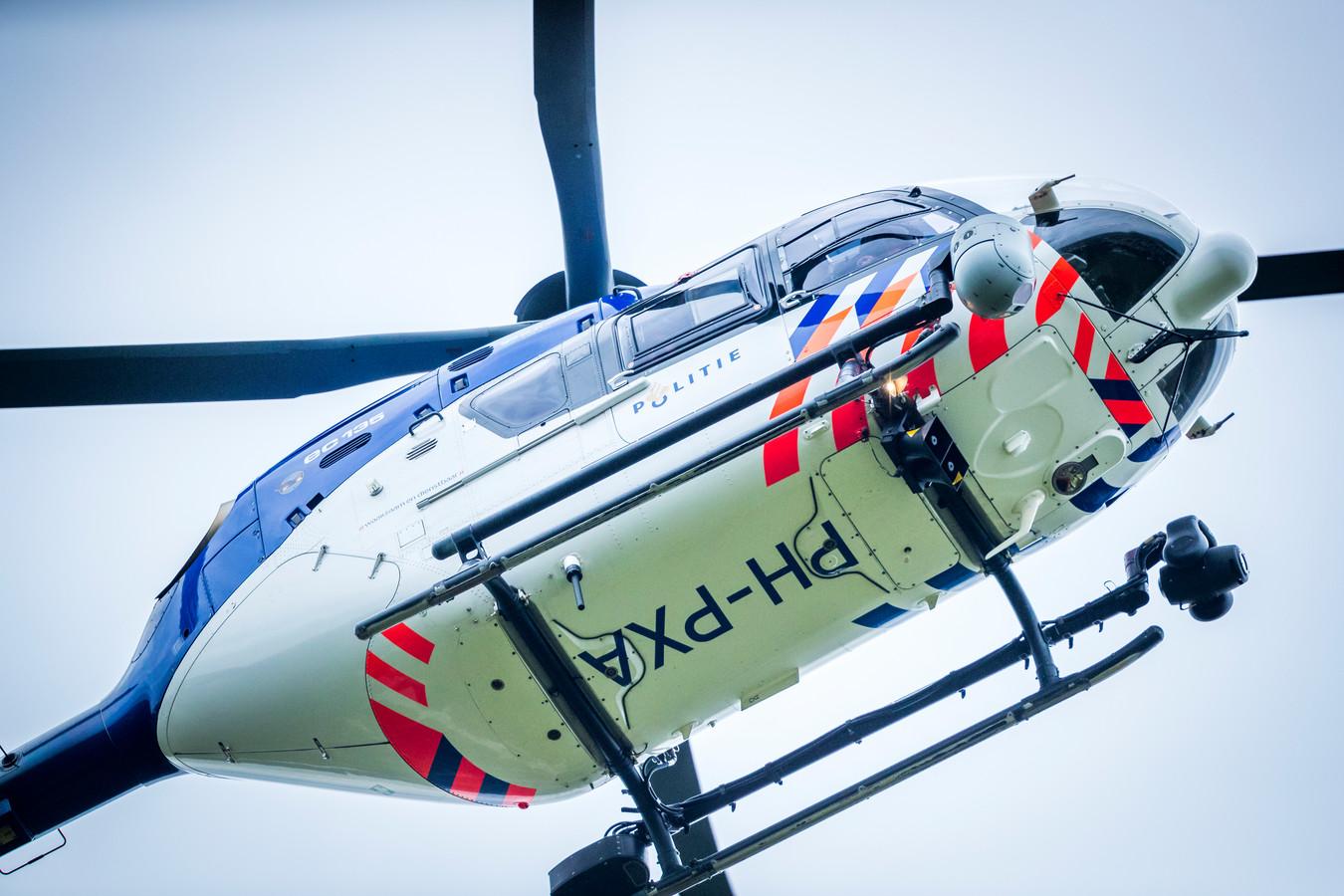 Een politiehelikopter. Foto ter illustratie