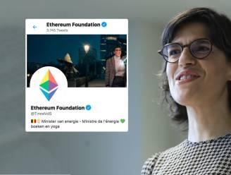 Twitteraccount minister Van der Straeten (Groen) gehackt door fans van cryptomunt Ethereum