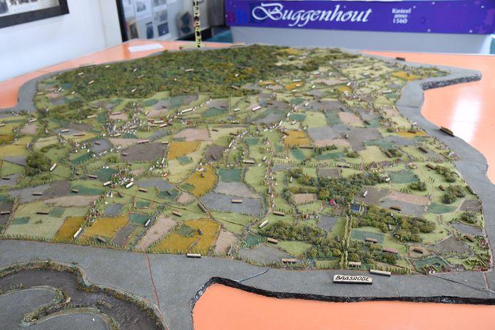 De grote maquettes van Ter Palen zullen wel elders gestockeerd moeten worden, want daarvoor is in de Orangerie geen plaats.