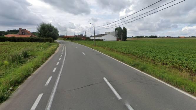 Vlamertingseweg afgesloten door wegenwerken