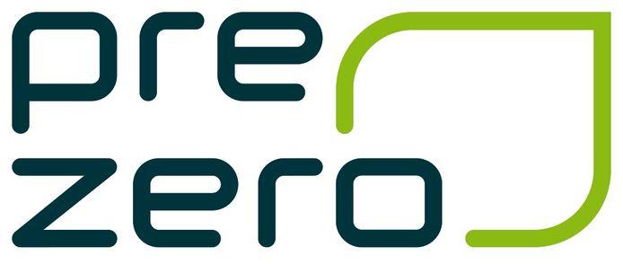 Het logo van PreZero, zoals het grote afvalverwerkingsbedrijf nu gaat heten