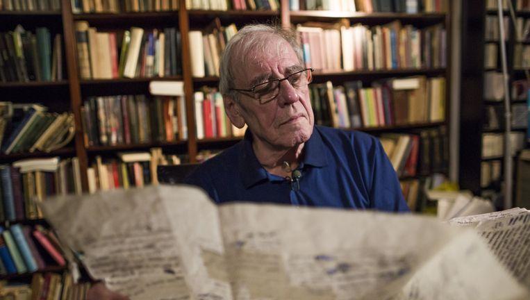 Jeroen Brouwers, winnaar ECI Literatuurprijs (voorheen AKO literatuurprijs). Beeld Freek van den Bergh