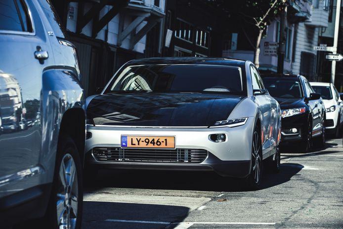 Lightyear One, eerste model zonneauto van Lightyear uit Helmond.