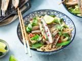 Wat Eten We Vandaag: Aziatische scheermessen met sugarsnaps