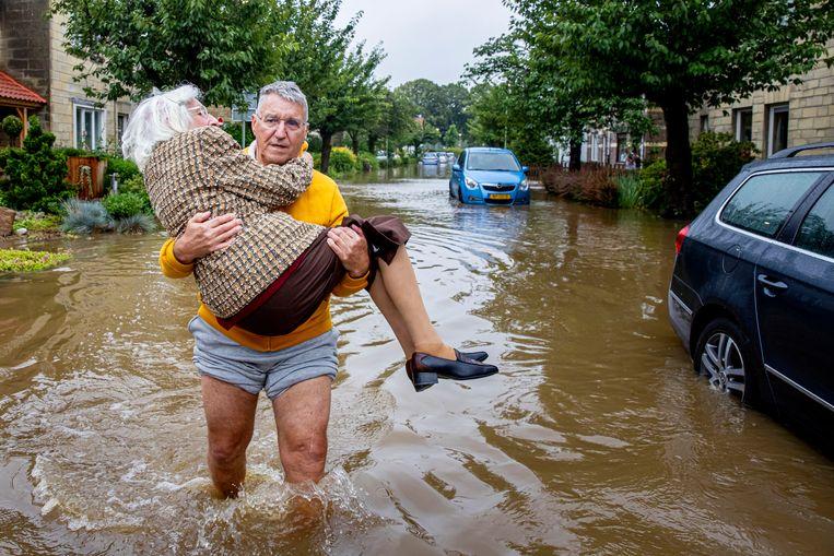Valkenburg, 15 juli 2021 Beeld Getty Images