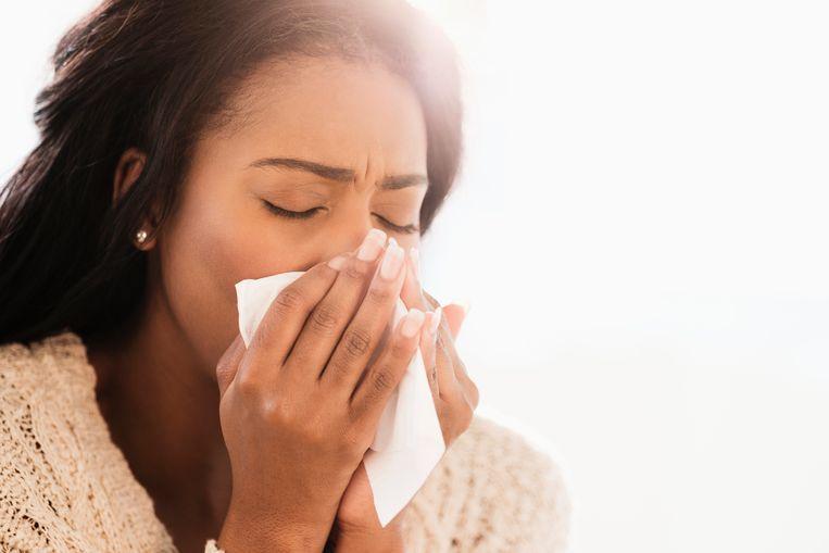 verkouden zijn Beeld Getty Images/Tetra images RF
