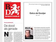 Euthanasieverhaal Eelco in BD maakt veel los
