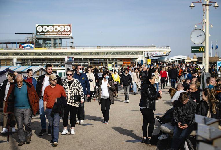 Herstel-NL stelde een plan op om Nederland per 1 maart weer open te gooien. Beeld ANP