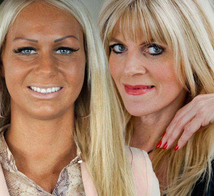 Samantha de Jong (links) en Kim Holland.