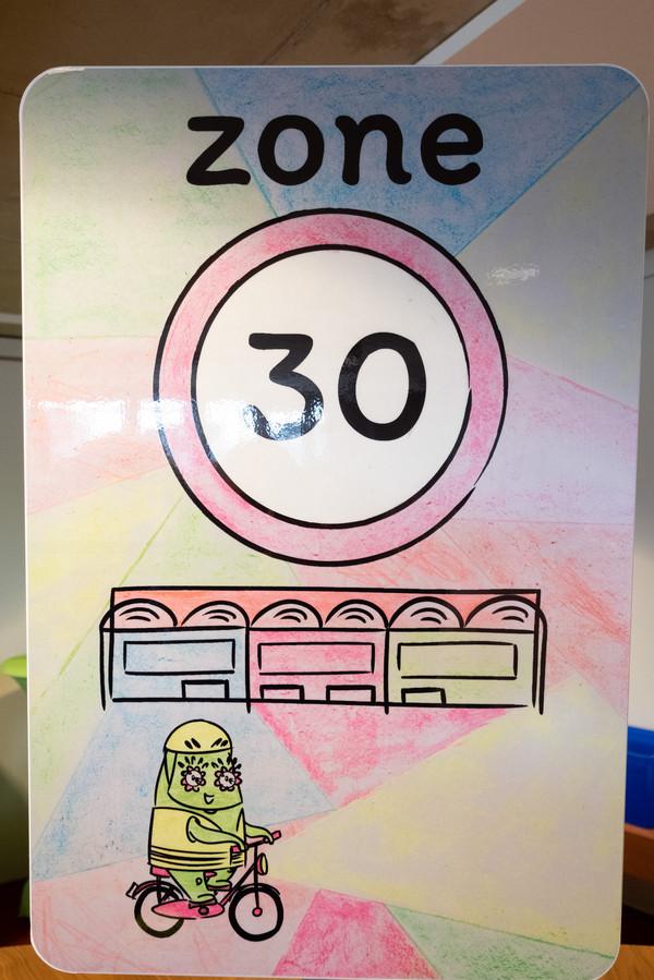 BONHEIDEN Leerlingen van Bonheiden ontwerpen zelf verkeersborden Zone 30