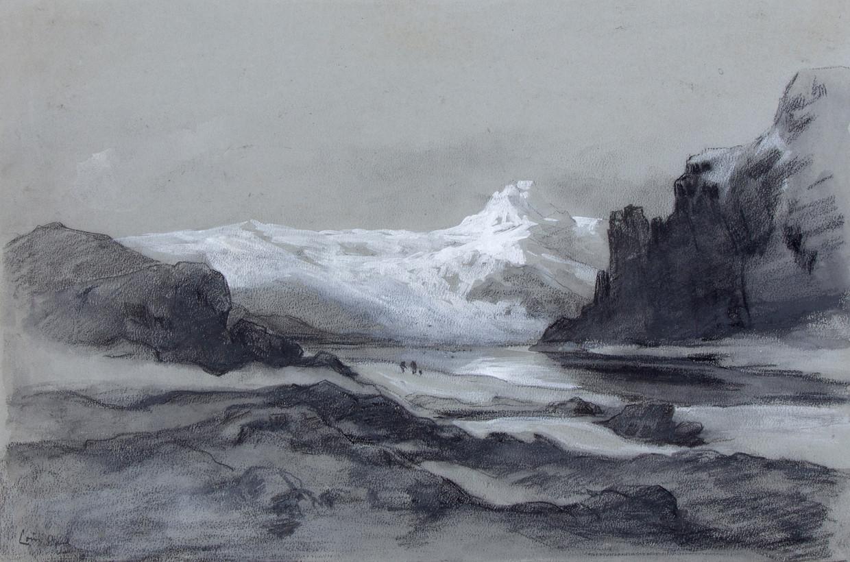 Louis Apol, Wrangeleiland (1880) Beeld Particuliere collectie