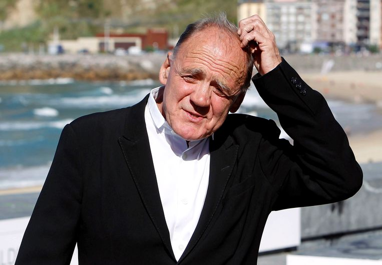 Bruno Ganz in 2010. Beeld null
