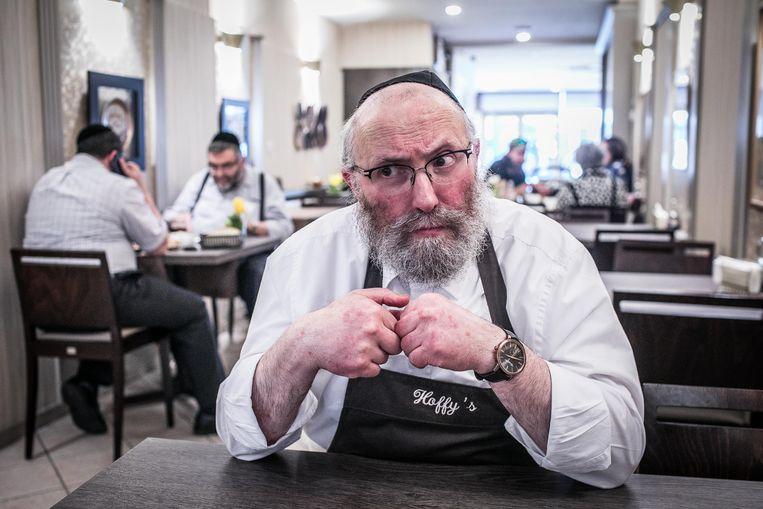 Moshe Hoffman, uitbater van restaurant Hoffy's: