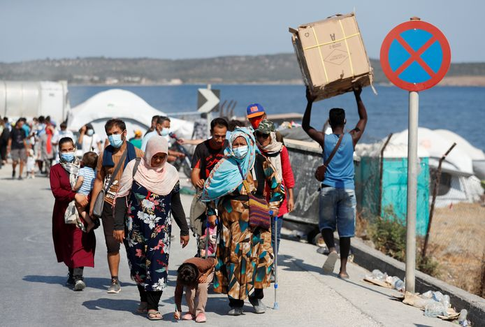 De Europese Commissie wil een eind maken aan taferelen als op Lesbos.