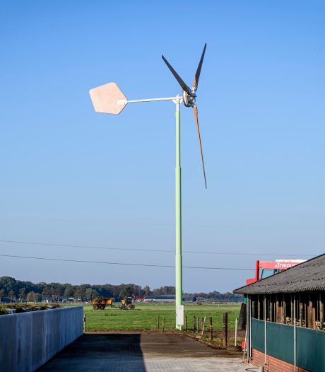 Grote windturbines zijn uitgesloten in Voorst, dus onderzoekt de gemeente nu kleine windmolens