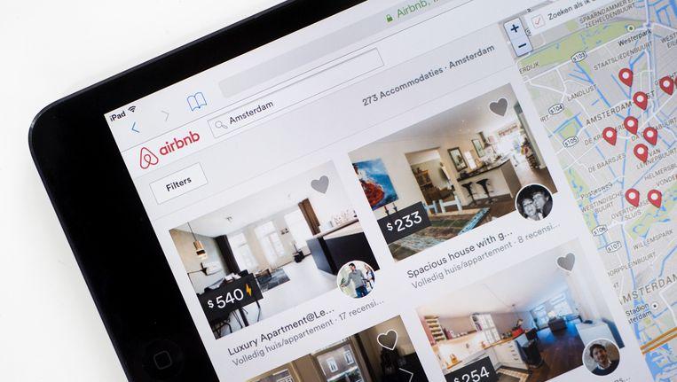 Advertenties op Airbnb Beeld anp
