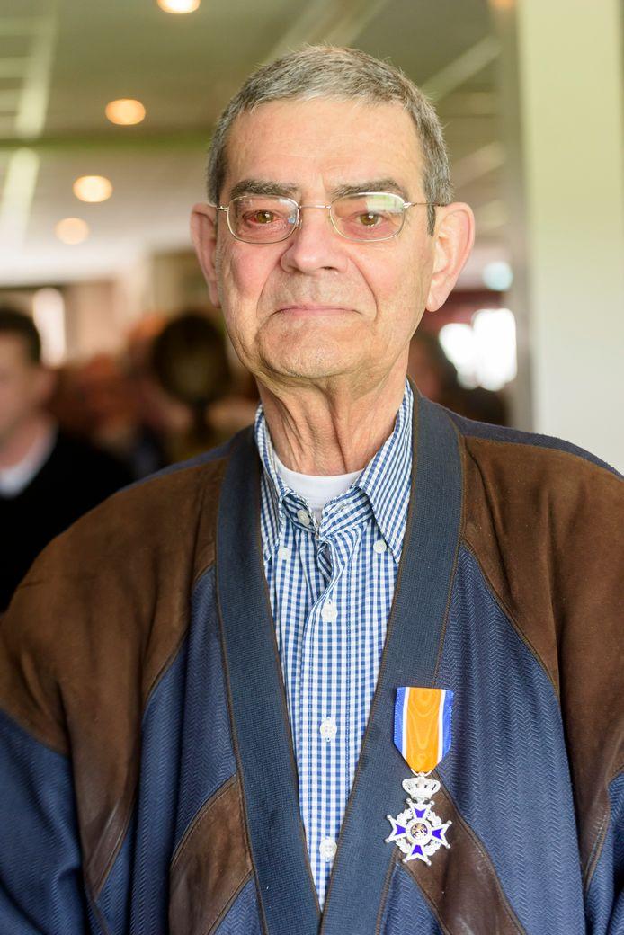 EERSEL - Koninklijke Onderscheiding voor Ad van Kimmenade, vrijwilliger bij voetbalvereniging EFC