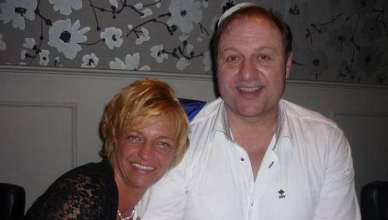 Jerry Coeman en zijn vrouw Martine.