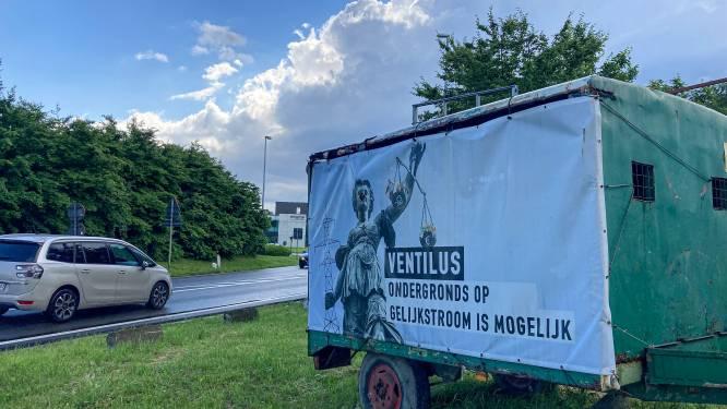 Half jaar de stekker uit hoogspanningslijn Ventilus: kan bemiddelaar oplossing vinden voor massaal protest?