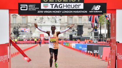 """Marathonloper Kipchoge doet nieuwe poging om """"magische barrière"""" te doorbreken"""