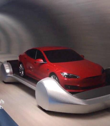 Eerste tunnel van Elon Musks The Boring Company opent dit jaar