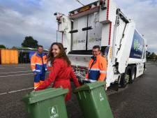 Houten leegt kliko's met 'schone' vuilniswagens