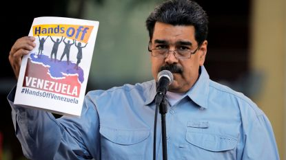 """Trump: """"Blokkade hulpgoederen door Maduro is vreselijke fout"""""""