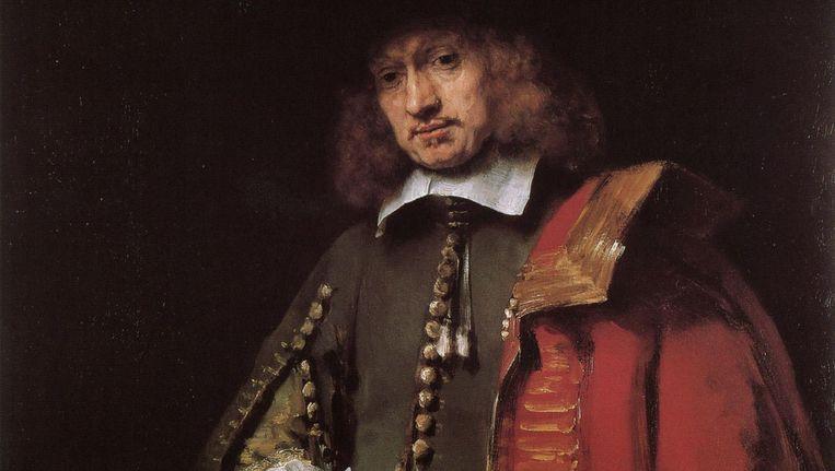 Portret van Jan Six Beeld Rembrandt [Public domain], via Wikimedia Commons