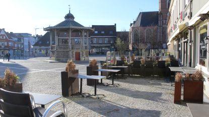 """Aalter gaat voor grootste openluchtterras van Meetjesland: """"Tafels en stoelen tot aan de kiosk"""""""