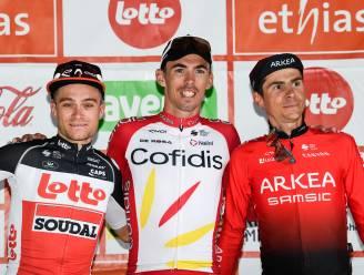 """Tosh Van der Sande derde in GP van Wallonië: """"Het hoogst haalbare, want Laporte was veel te snel"""""""