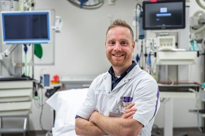Spoedeisende Hulp-arts Joost Frenken van het Elkerliek ziekenhuis in Helmond.