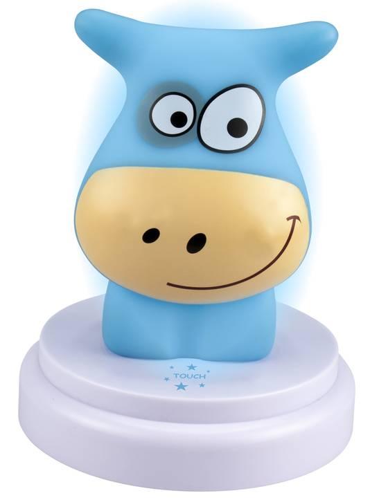 Het nachtlampje in de vorm van een koe bleek niet meer te leveren
