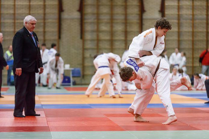 Ruim drie jaar geleden: een judotoernooi in De Omganck in Wouw.