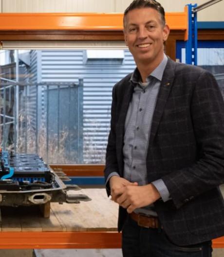 Pieter Ursem geeft autoaccu's een tweede leven