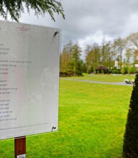 Poëzieroute door een bijzonder wandelgebied rond crematorium in Usselo