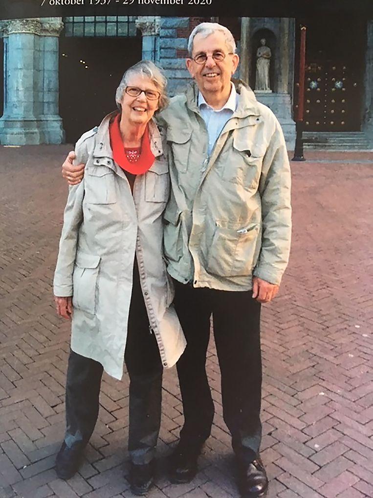 Lenie en Jan, zo'n vijf jaar geleden. Beeld