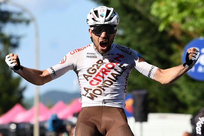 Andrea Vendrame wint de twaalfde etappe.