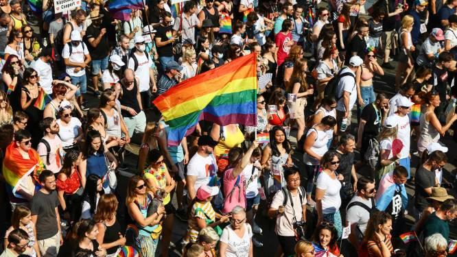 Duizenden deelnemers voor Budapest Pride in Hongarije tegen anti-LGBTQ-wet